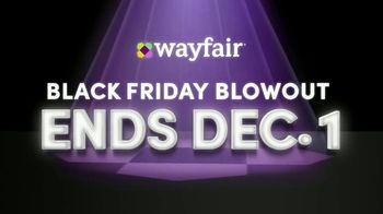 Wayfair Black Friday Blowout TV Spot, '2019 Black Friday' - Thumbnail 9