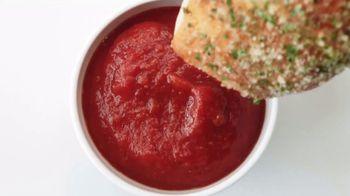 Pizza Hut Stuffed Garlic Knots Pizza TV Spot, 'That's the Stuff' - Thumbnail 9