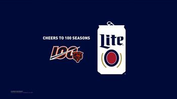 Miller Lite TV Spot, 'Cheers to 100 Seasons: Chicago Bears' - Thumbnail 8