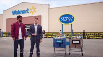 Walmart TV Spot, 'Obvious Choice Challenge: Which Cart'