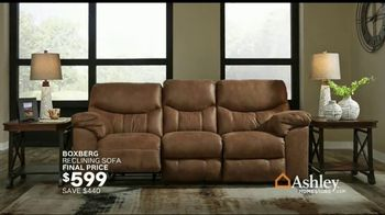 Ashley HomeStore Black Friday Sale TV Spot, 'Early Deals: Sofas' Song by Midnight Riot - Thumbnail 6