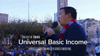 Friends of Andrew Yang TV Spot, 'Champion of Change'