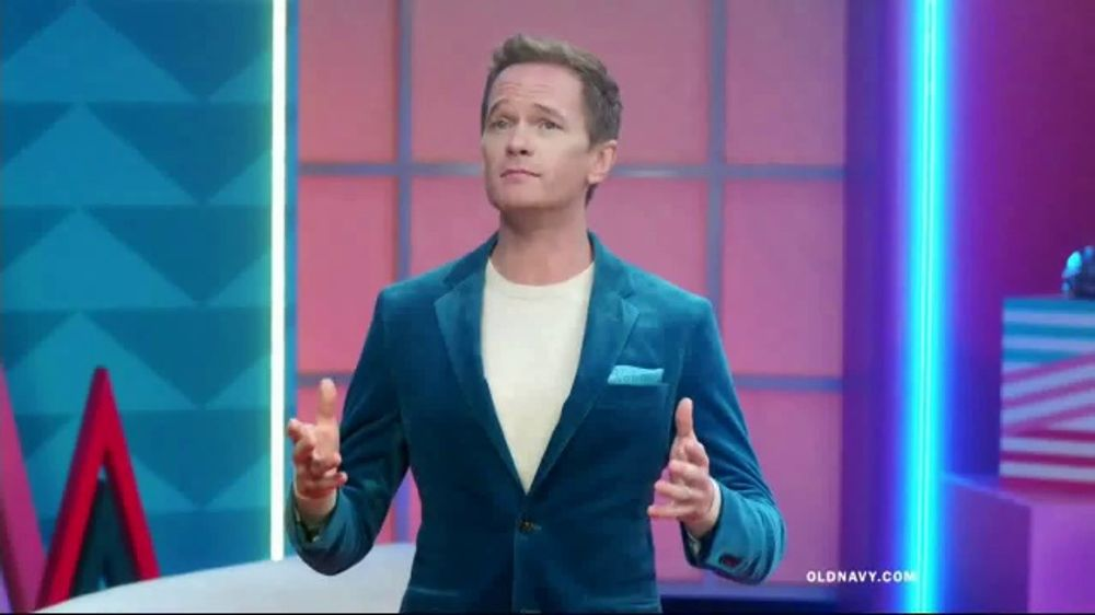 Old Navy TV Commercial, 'Holiday Stress: Everything 50 Percent Off & Cozy Socks' Ft. Neil Patrick Ha