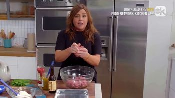 Food Network Kitchen App TV Spot, 'Rachael's Burger Patty' - 278 commercial airings