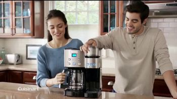Cuisinart Coffee Center TV Spot, 'The Best of Both Worlds' - Thumbnail 4
