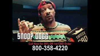 Swissx TV Spot, 'Chocolate and Hemp Oil' Featuring Snoop Dogg - 73 commercial airings