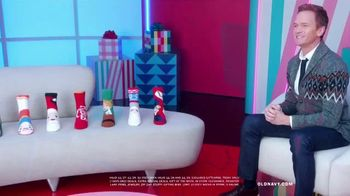 Old Navy TV Spot, 'Holidays: Klaus Cozy Socks' Featuring Neil Patrick Harris - 217 commercial airings