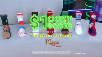 Old Navy TV Spot, 'Holidays: Klaus Cozy Socks' Featuring Neil Patrick Harris - Thumbnail 8