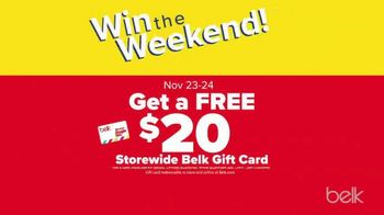 Belk Pre-Thanksgiving Sale TV Spot, 'Boots, Jewelry and Gift Card' - Thumbnail 7