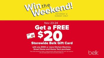 Belk Pre-Thanksgiving Sale TV Spot, 'Boots, Jewelry and Gift Card' - Thumbnail 8