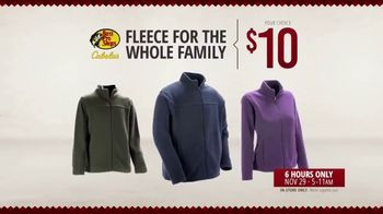 Bass Pro Shops Black Friday Sale TV Spot, 'Fleece, Hooded Jacket and Ride-On Toys' - Thumbnail 7