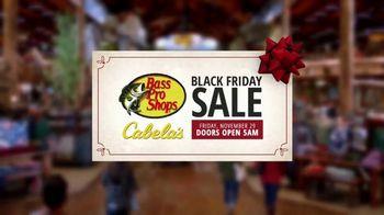 Bass Pro Shops Black Friday Sale TV Spot, 'Lounge Pants, Beanie Glove Combo and Binoculars' - Thumbnail 2