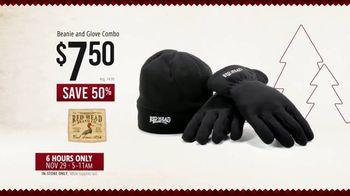 Bass Pro Shops Black Friday Sale TV Spot, 'Lounge Pants, Beanie Glove Combo and Binoculars' - Thumbnail 8