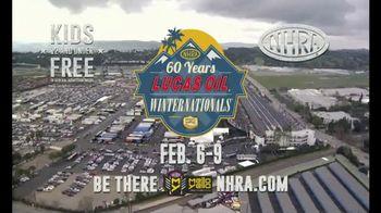 NHRA TV Spot, '2020 Lucas Oil Winternationals'