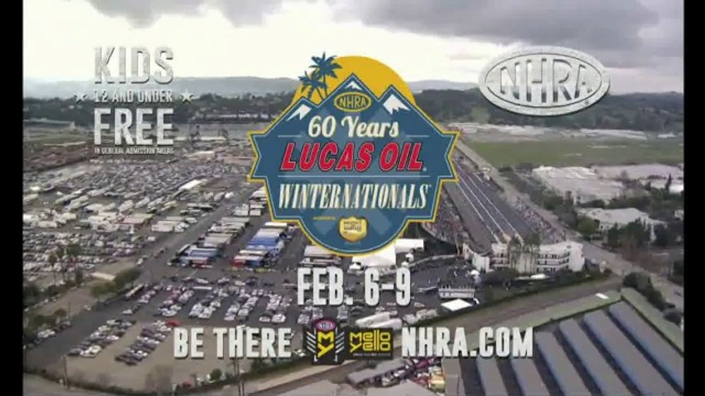 NHRA TV Commercial, '2020 Lucas Oil Winternationals'