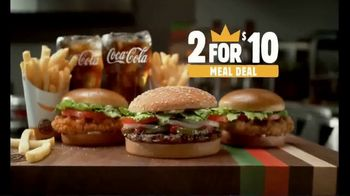 Burger King 2 for $10 Meal Deal TV Spot, 'Two Fries and Two Drinks' - Thumbnail 6
