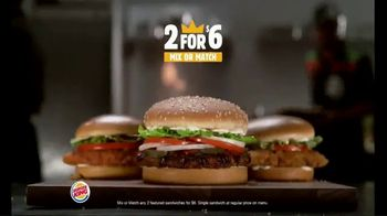 Burger King 2 for $10 Meal Deal TV Spot, 'Two Fries and Two Drinks' - Thumbnail 2
