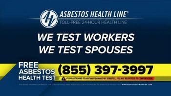 Asbestos Health Line TV Spot, 'Manufacturing Industries' - Thumbnail 8