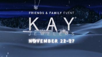 Kay Jewelers Friends & Family Event TV Spot, 'Diamond Necklace' - Thumbnail 3