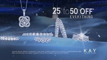 Kay Jewelers Friends & Family Event TV Spot, 'Diamond Necklace' - Thumbnail 4