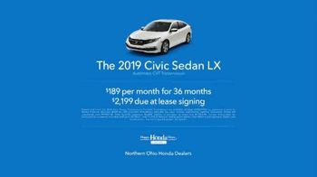 2019 Honda Civic TV Spot, 'Life Is Better: Pour Cleveland' [T2] - Thumbnail 7