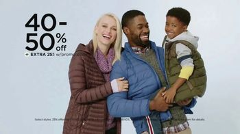 Kohl's Friends + Family Sale TV Spot, 'Outerwear, Sweaters and Throws'