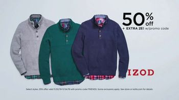 Kohl's Friends + Family Sale TV Spot, 'Outerwear, Sweaters and Throws' - Thumbnail 5
