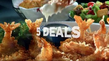 Red Lobster Weekday Win Menu TV Spot, 'Five Days, Five Deals' - Thumbnail 9