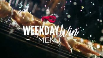 Red Lobster Weekday Win Menu TV Spot, \'Five Days, Five Deals\'