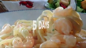 Red Lobster Weekday Win Menu TV Spot, 'Five Days, Five Deals' - Thumbnail 8