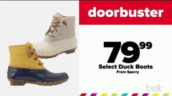 Belk Pre-Thanksgiving Sale TV Spot, 'Boots, Jewelry and Kitchen Electrics' - Thumbnail 5