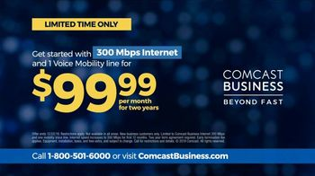 Comcast Business TV Spot, 'Connected: Speed Upgrade' - Thumbnail 8