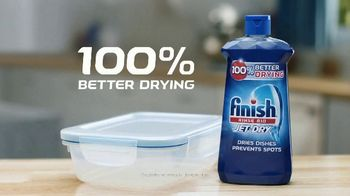 Finish Jet-Dry Rinse Aid TV Spot, 'Completely Dry' - Thumbnail 10