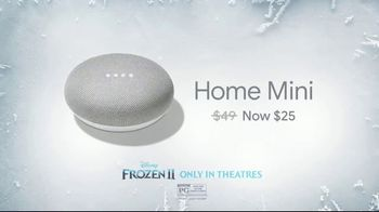 Google Home Mini TV Spot, 'Frozen 2: Part of Your Family: $25' - Thumbnail 3