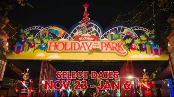 Six Flags Holiday in the Park TV Spot, 'Millions of Lights' - Thumbnail 1