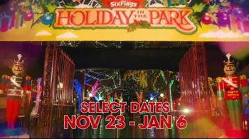 Six Flags Holiday in the Park TV Spot, 'Millions of Lights' - Thumbnail 2