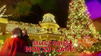 Six Flags Holiday in the Park TV Spot, 'Millions of Lights' - Thumbnail 3