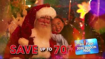 Six Flags Holiday in the Park TV Spot, 'Millions of Lights' - Thumbnail 8