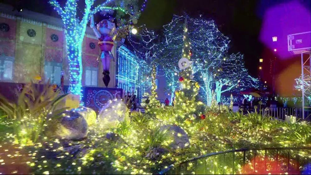 Six Flags Christmas 2020 Six Flags Holiday in the Park TV Commercial, '2020 Season Pass