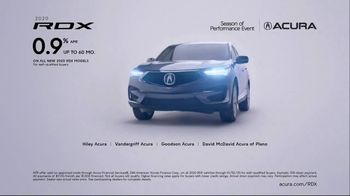 Acura Season of Performance Event TV Spot, 'Fun Stuff: RDX' [T2]