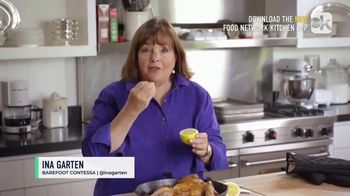 Food Network Kitchen App TV Spot, 'Ina Adds Extra Flavor to a Dish' - 87 commercial airings