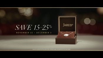 Jared Black Friday Sale TV Spot, 'A Gift That Says It All: 15 to 25 Percent' - Thumbnail 9