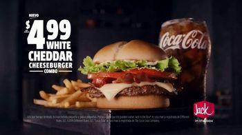 Jack in the Box White Cheddar Cheeseburger Combo TV Spot, 'La cita' [Spanish] - Thumbnail 8