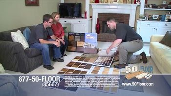 50 Floor TV Spot, '60 Percent Off in November' - Thumbnail 1