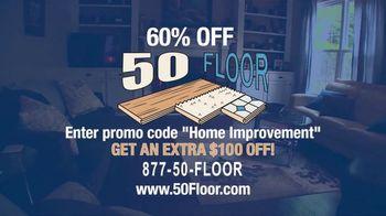 50 Floor TV Spot, '60 Percent Off in November' - Thumbnail 10