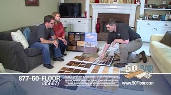 50 Floor TV Spot, '60 Percent Off in November' - Thumbnail 3