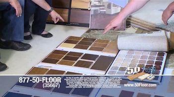 50 Floor TV Spot, '60 Percent Off in November' - Thumbnail 4