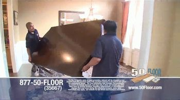 50 Floor TV Spot, '60 Percent Off in November' - Thumbnail 5