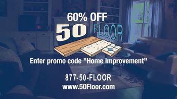 50 Floor TV Spot, '60 Percent Off in November' - Thumbnail 9