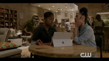 Microsoft Surface TV Spot, 'The CW: All American: Extended Play' - Thumbnail 1